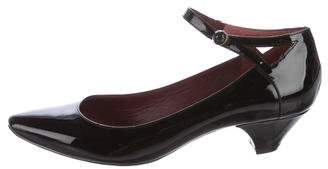 Marc by Marc Jacobs Patent Leather Ankle-Strap Pumps