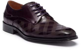 Steven Land Plaid Leather Derby
