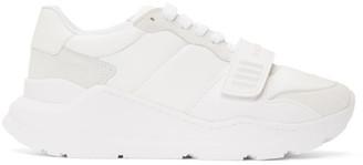 Burberry White Regis Sneakers