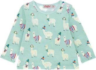 Cath Kidston Mini Alpacas Baby Long Sleeved T Shirt