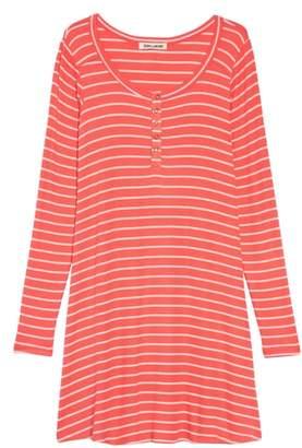 Billabong My Time Henley Stripe Dress