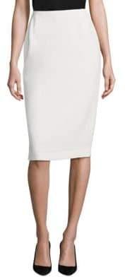 Lafayette 148 New York Crepe Pencil Skirt