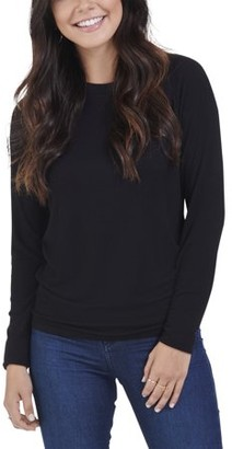 Seek No Further Women's Long Sleeve Ribbed T-Shirt, Available in Sizes up to 2XL