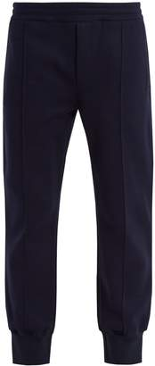 Alexander McQueen Tapered cotton-blend track pants