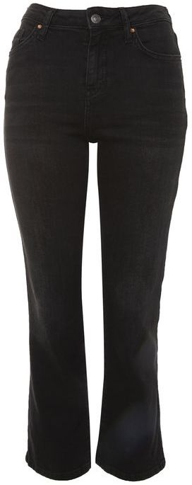 Topshop Topshop Moto dree cropped kick flare jeans
