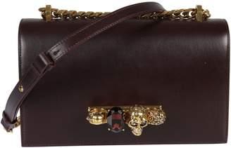 Alexander McQueen Knuckle Duster Shoulder Bag