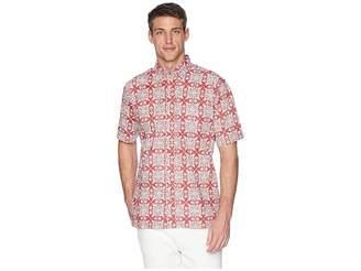 Reyn Spooner Christmas Quilt Classic Fit Aloha Shirt