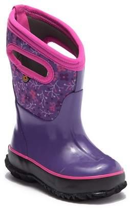 Bogs Classic Flower Waterproof Boot (Toddler, Little Kid, & Big Kid)