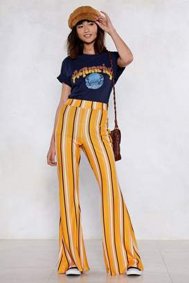 Nasty Gal Partner in Line Striped Pants