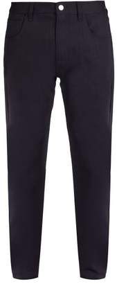 Raf Simons Christiane F. Photographic Print Jeans - Mens - Navy