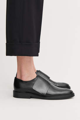 Cos WRAP-OVER LEATHER BROGUES