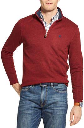 Izod Premium Essentials Mock Neck Long Sleeve Pullover Sweater