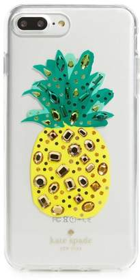 Kate Spade jeweled pineapple iPhone 7/8 case