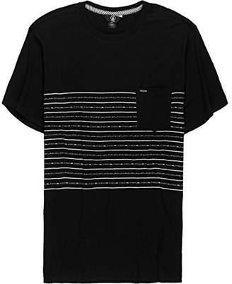Volcom Men's Threezy Knit Crew Shirt