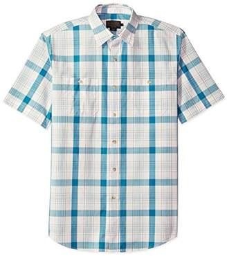 Pendleton Men's Short Sleeve Button Front Clear Lake Shirt