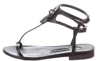 Tom Ford Leather Cage Sandals