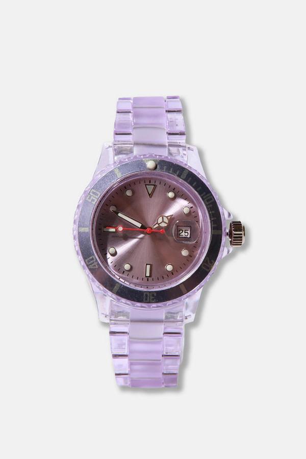 Translucent Plastic Watch