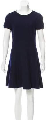 Aqua Cashmere Mini Dress