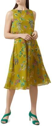 Hobbs London Ember Floral Print Popover Dress