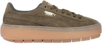 Puma Select Rugged Suede Platform Sneakers