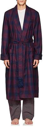 Derek Rose Men's York Plaid Wool Robe