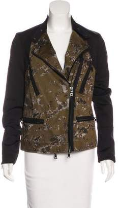 Robert Rodriguez Printed Zip-Up Jacket
