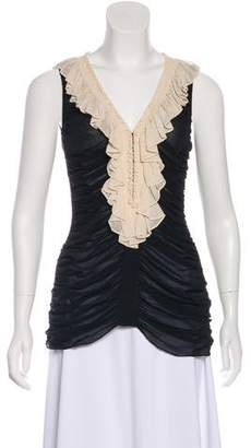 Temperley London Silk Sleeveless Top