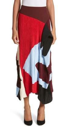 Roksanda Calda Crystal Pleat Skirt