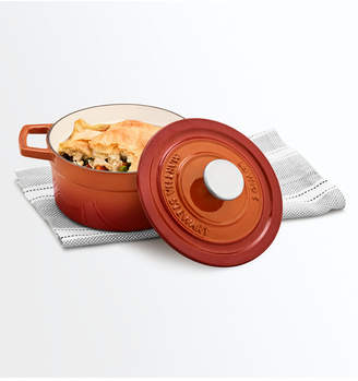 Martha Stewart Collection Cast Iron Enameled 2-Qt. Round Covered Dutch Oven, Created for Macy's