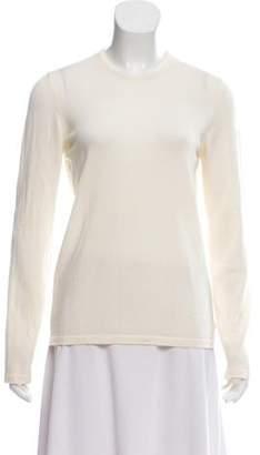 Henri Bendel Merino Wool Crew Neck Sweater