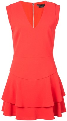 Alice + Olivia Alice+Olivia layered mini dress