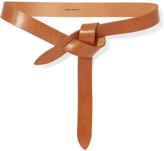 Isabel Marant Lecce Leather Belt - Tan