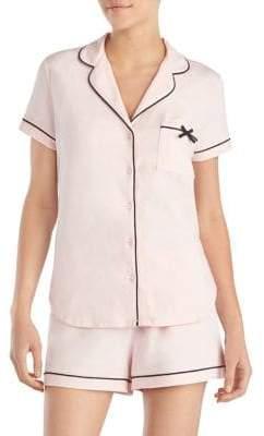 Kate Spade Two-Piece Short Pajama Set