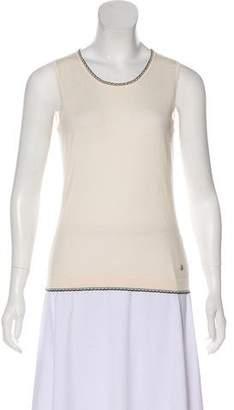 Rena Lange Sleeveless Knit Top