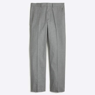 J.Crew Factory Bedford dress pant in heathered cotton