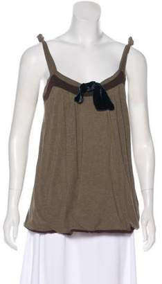 Marc by Marc Jacobs Sleeveless V-Neck Top