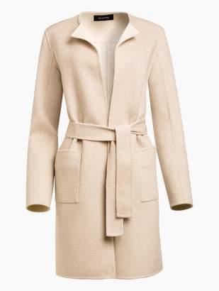 St. John Reversible Doubleface Cashmere Jacket