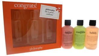 philosophy Congrats! 3 x 6oz Shampoo, Shower Gel & Bubble Bath - Senorita