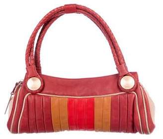 Fendi Quilted Leather Handle Bag