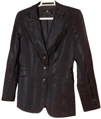 Rena Lange Navy Silk Jacket for Women
