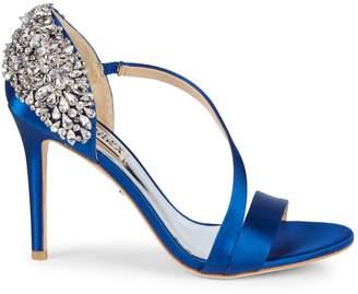 Badgley Mischka Pauline Embellished d'Orsay Stiletto Sandals
