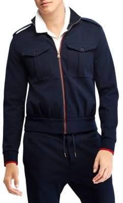 Ralph Lauren Purple Label Eisenhower Double-Faced Cotton-Blend Jacket