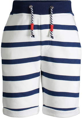 Andy & Evan Stripe French Terry Shorts