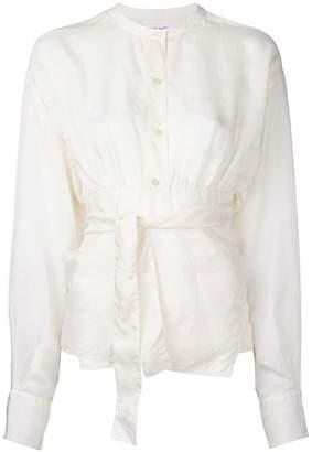 MS MIN tie fastening blouse