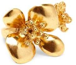 Oscar de la Renta Flower Statement Ring