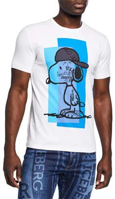 Iceberg Men's Graffiti Snoopy T-Shirt