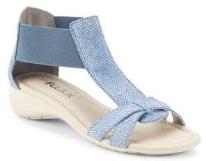 The Flexx Band Together T-Strap Sandals
