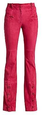 Altuzarra Women's Ned Suede Trousers