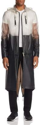 LVL XIII Convertible Color-Block Rain Coat $495 thestylecure.com