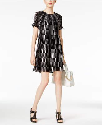 MICHAEL Michael Kors Pleated A-Line Dress $135 thestylecure.com